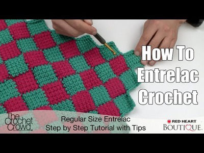 How to Entrelac Crochet
