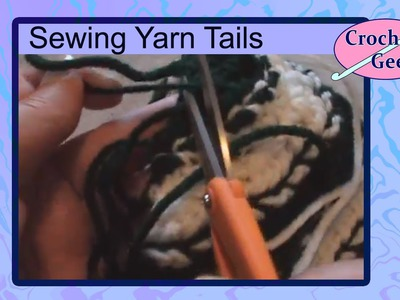 How to Hide Crochet Yarn Tails - Crochet Stitch Tips