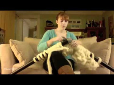 How to knit a GIGANTO-BLANKET