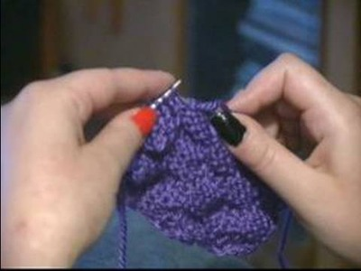How to Knit a Scarf : How to Do the Basket Weave: Scarf Knitting