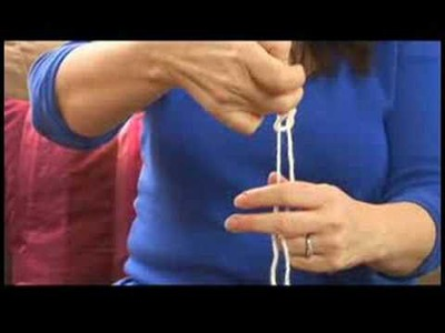 How to Knit : Knitting Instructions: Make Slip Knot