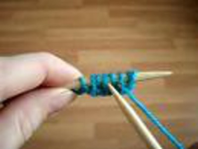 How to Knit: Rib Cable Cast-On Method