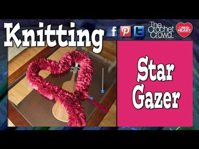 How To Knit Stargazer Yarn Scarves by Estelle Yarns