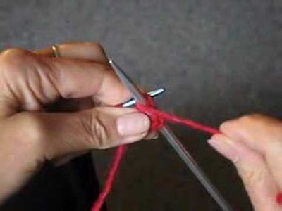 HOW TO KNIT: THE PURL STITCH VIDEO