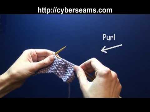 How to Knit - the Seed Stitch