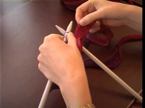 How to knit with Rico Design Can Can yarn