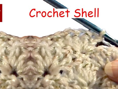How to make a Crochet Shell Crochet Geek