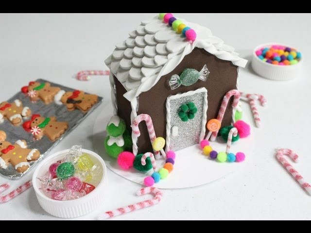 How to Make a Doll Gingerbread House - Doll Crafts