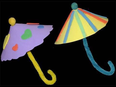 How to make a foami umbrella - EP