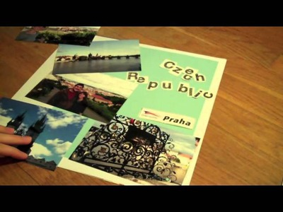 How to Make a Scrapbook!