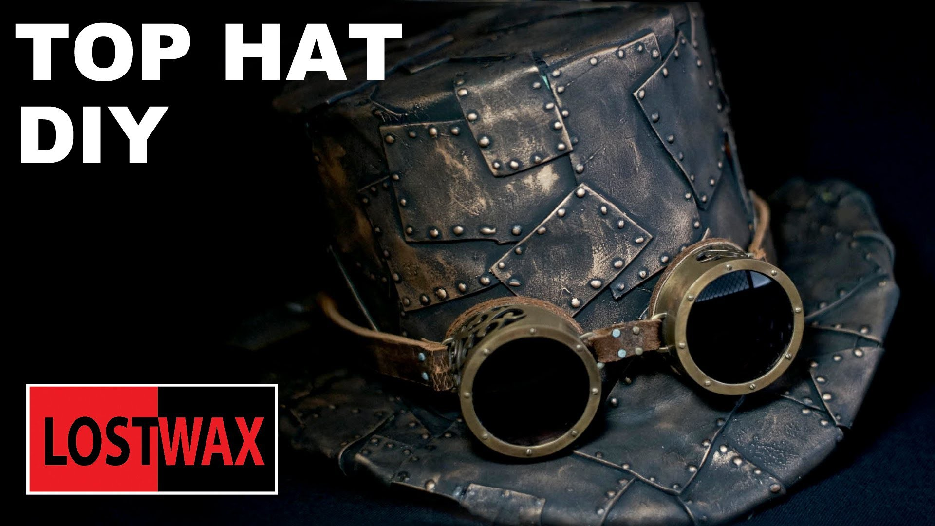 How To Make A Top Hat, DIY Steampunk Fashion Pattern Tutorial