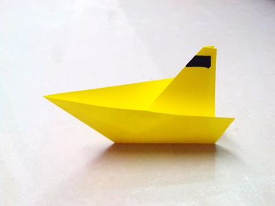 How to make an origami paper boat - 2 | Origami. Paper Folding Craft, Videos and Tutorials.