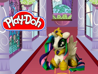 How to make Play Doh Princess Celestia My Little Pony