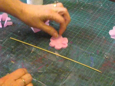 How To Make Tissue Paper Flowers For Scrapbooking and Card Making Projects.