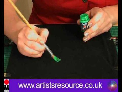 How to Paint onto your T- shirt - Fabric Painting project - Art and Craft