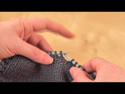 How to: Slip. Slip. Knit. (ssk)