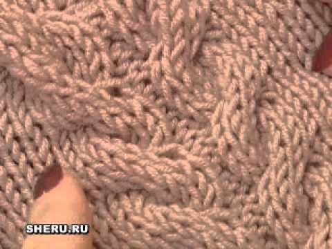 Ирландское вязание (Irish knitting) часть 2