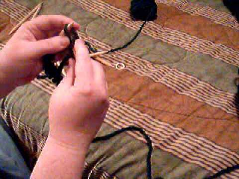 """""""Join in the round"""" Knitting Example"""