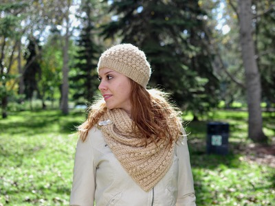 Knit a simple hat (Beanie) - Free Knitting Patterns Tutorials