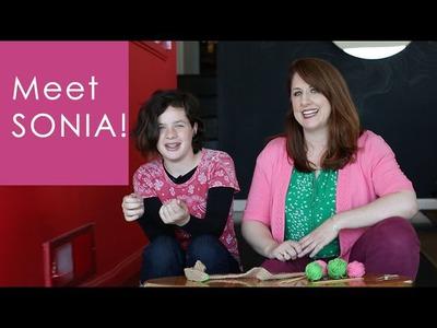 Knitting for Kids Vlog: MEET SONIA!