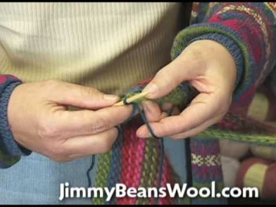 Knitting Instructional Video - How To Pick Up Stitches