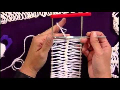 Learn Hairpin Lace from Kristin Omdahl on Knitting Daily TV Crochet Corner