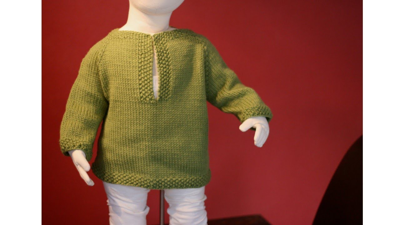 Learn to Knit a Raglan Sweater - Toddler Tunic Part 1
