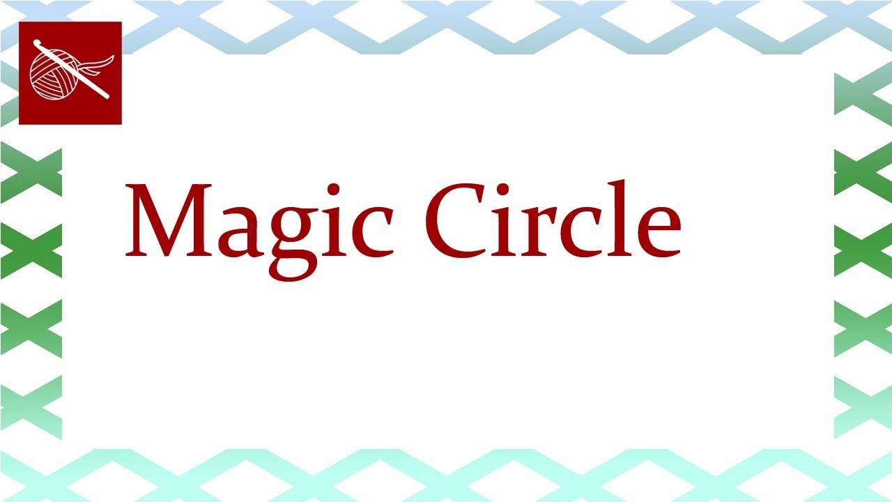 Magic Circle - Crochet Stitch Tip April 19 Video