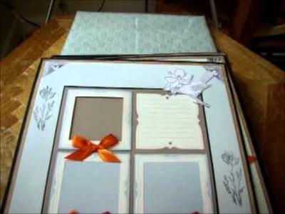 Martha Stewart Scrapbook Wedding Album