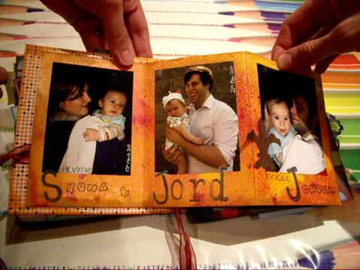 "Mini scrapbook for my Mother-in-Law ""Brother I Love You"""