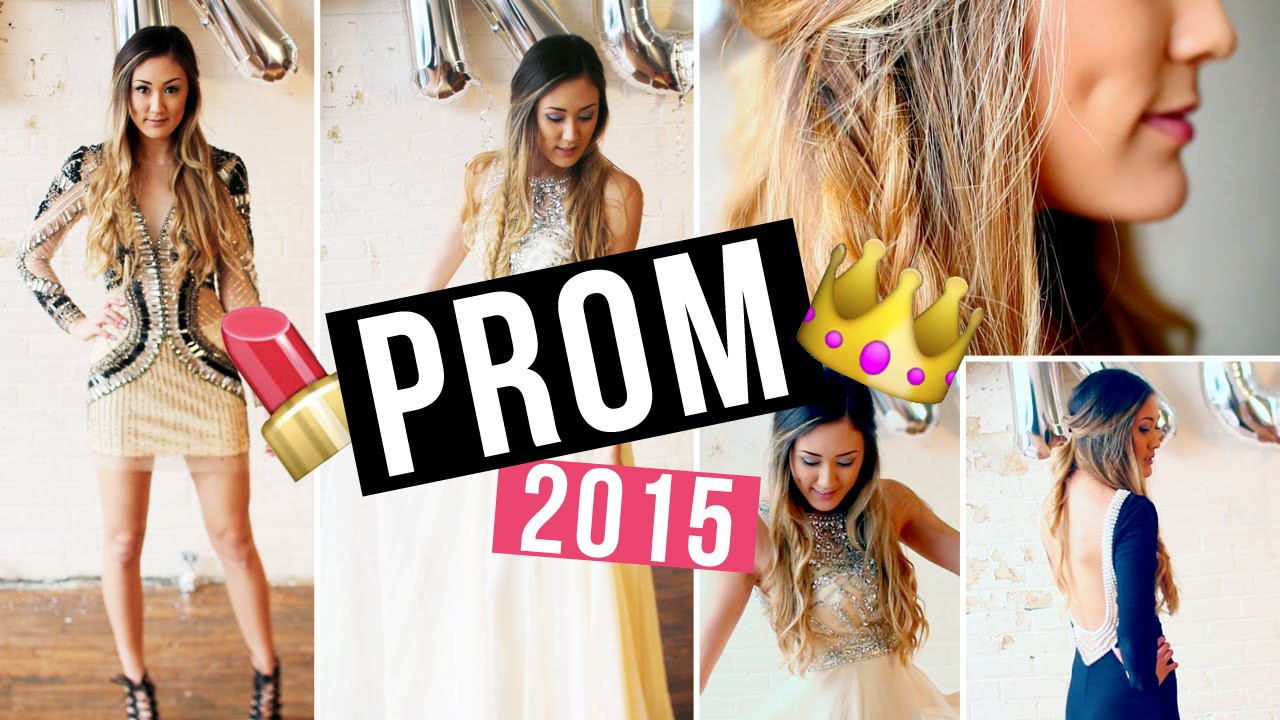 Prom Makeup, Hair Tutorial, DIY Face Mask & Dress Ideas! | LaurDIY