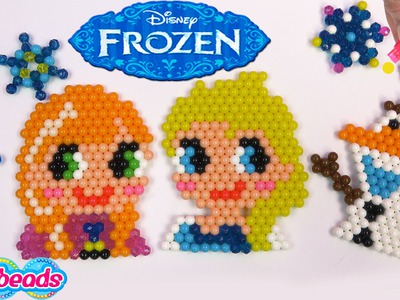 Queen Elsa Princess Anna Olaf Disney Frozen Water Beados like Aqua Beads Fun Simple Craft Playset