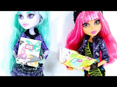 Quick Craft: How to Make Doll School Subject Folders
