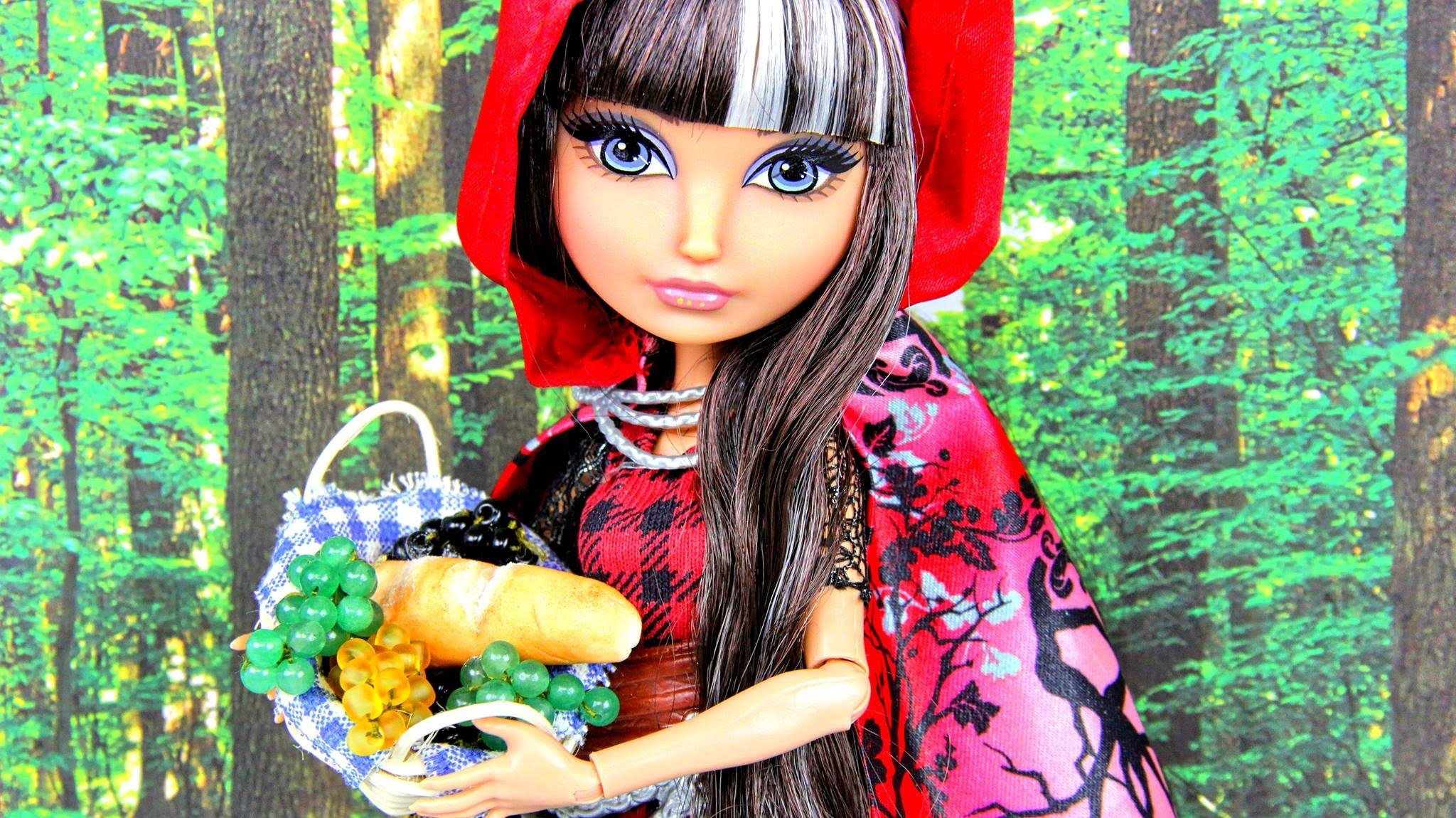 Quick Craft: How to Make Doll Food:  Grapes - Doll Crafts