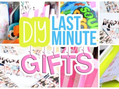♡ Quick, Easy & Cheap DIY Last Minute Gifts For Friends, Etc. | AlohaKatieX ♡