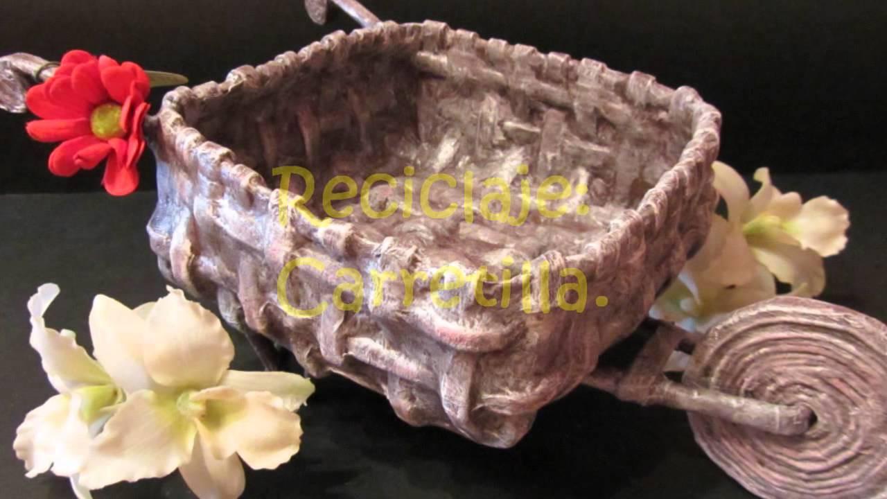 Recopilación de tutoriales de manualidades y reciclaje II. Craft tutorials collection.