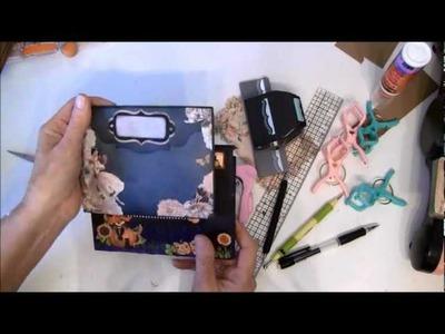 Scrapbook Tutorial - How to make an expanding envelope