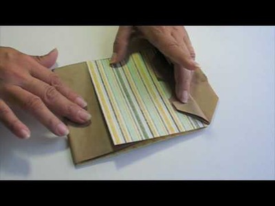 Scrapbooking Paper Bag Cover Mini Tutorial (SEP 09)
