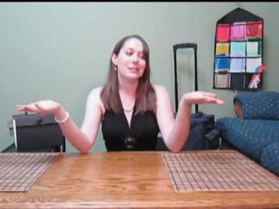 Scrapbooking Tutorial #2 - 3 Simple Organization Ideas