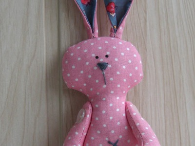 Sew a Pretty Patchwork Rabbit - DIY Crafts - Guidecentral