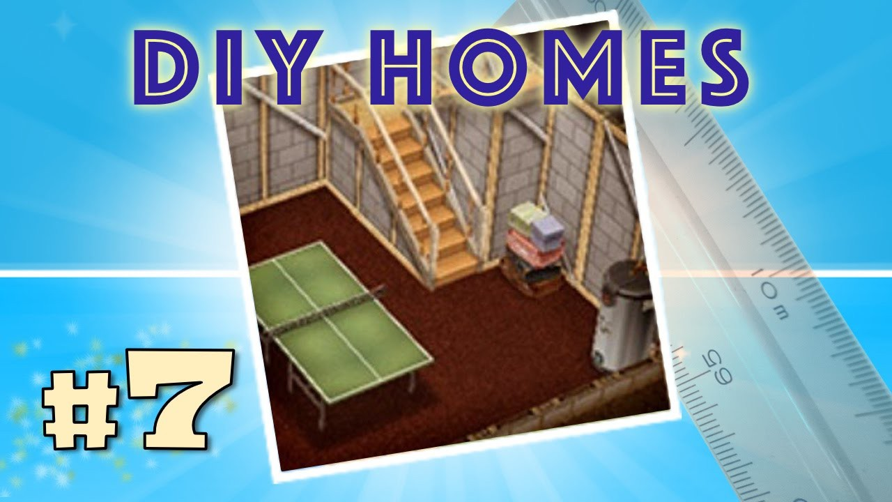 Sims FreePlay - DIY Homes 7 - Basement Quest (Tutorial & Walkthrough)