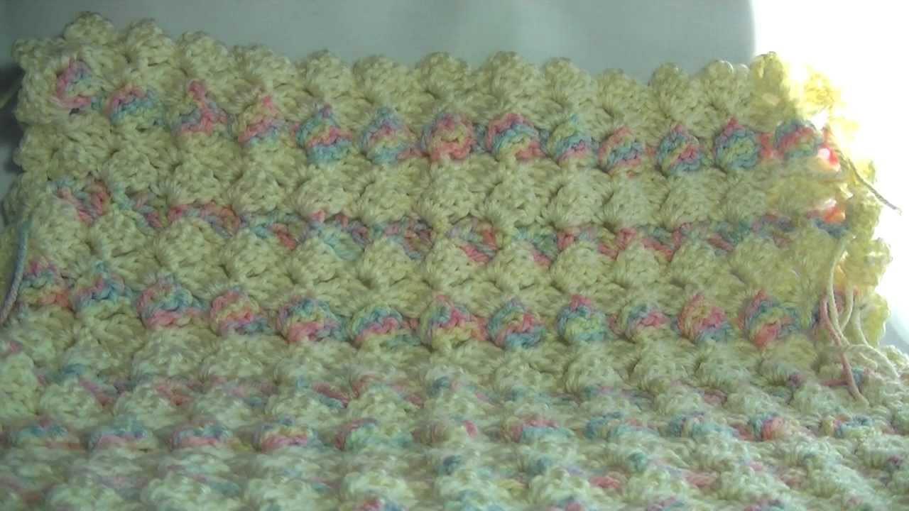 Slanted Shell Crochet Tutorial