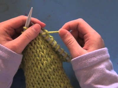 Small Knit Bag Tutorial - Part 1 of 3  - Knit