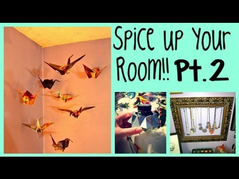 Spice Up Your Room Part 2!! 4 Inexpensive DIY Projects