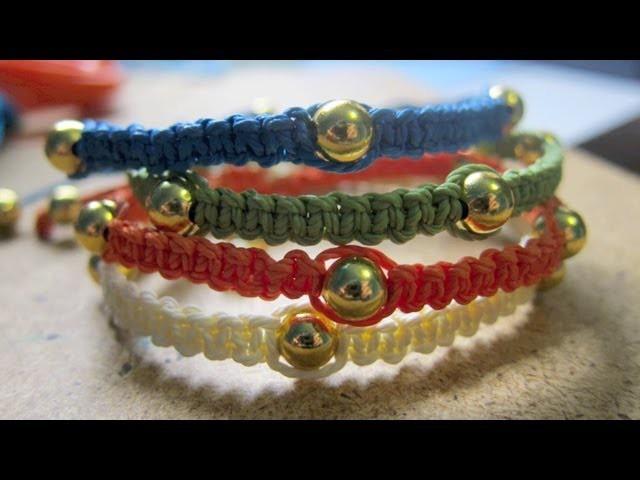 Square Knot DIY Bracelets Tutorial | Disney Style