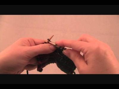 SSP Slip Slip Purl stitch continental - Pinkfeather Knitting