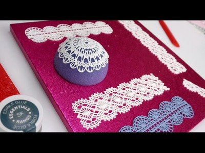 Sugar Lace: How To Make Icing Lace In Minutes