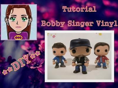 Supernatural Bobby Singer (Vinyl) DIY Tutorial