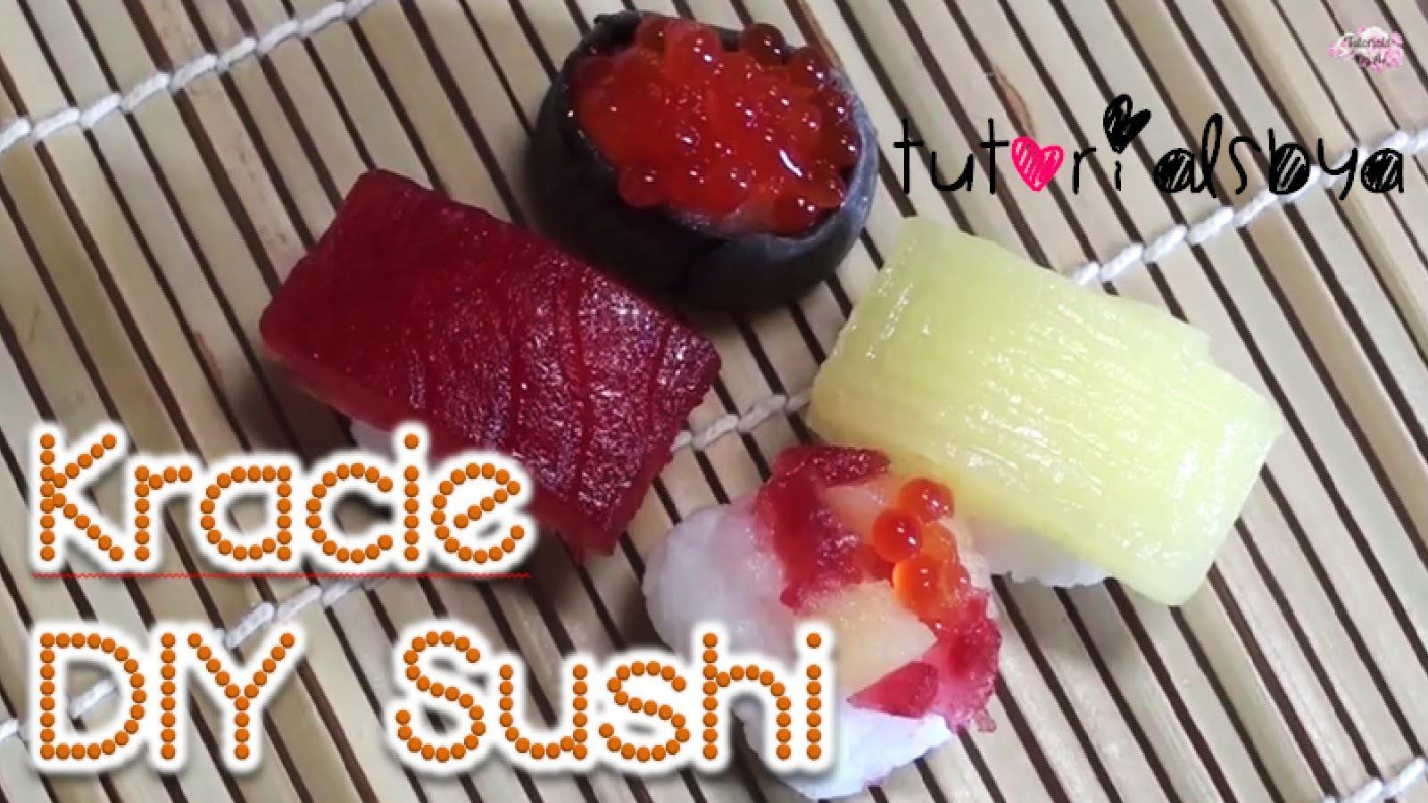 Sushi Kracie DIY Japanese Candy Kit Tutorial | Chef A