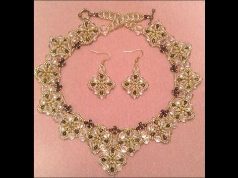 Triangle Dangle Necklace Tutorial